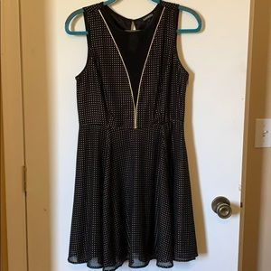 Express black and gold dress!!